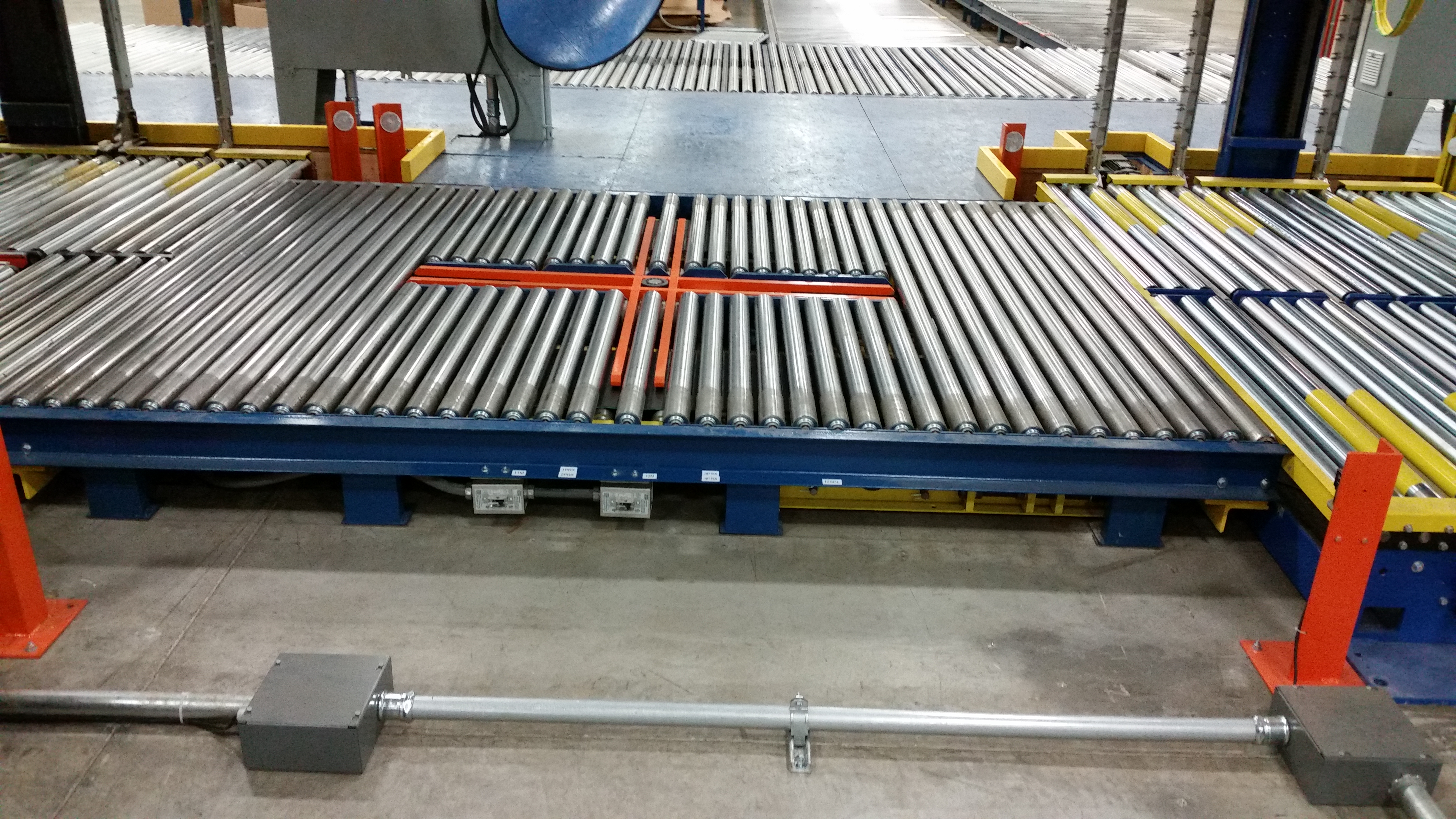 Turntable Device Ppp 54 Rowe Conveyor