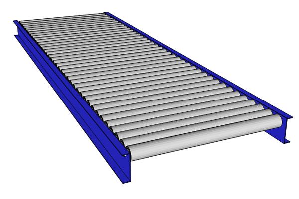 Gravity/Non-Powered Roller Conveyors-GPP-74 – Rowe Conveyor